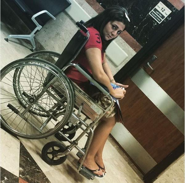 جولولي | شذى على كرسي متحرك بعد إصابتها.. شاهد