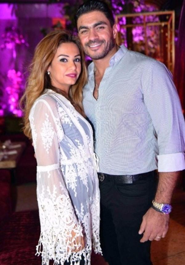 جولولي   بالصور.. النجوم يتألقون في حفل سحور خالد سليم وزوجته