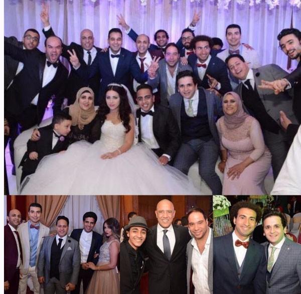 حفل زفاف اوس اوس