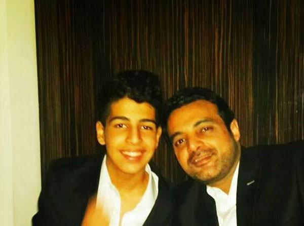 شاهد أول صور لابني عمرو محمود ياسين