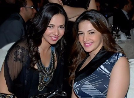 إيمي سمير غانم تحتفل بعيد ميلاد شقيقتها دنيا سمير غانم.. صور
