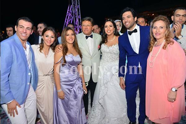الصور الكاملة لزفاف ايمي سمير غانم وحسن الرداد بحضور نجوم الفن والاعلام