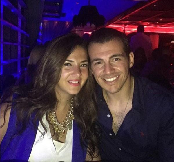 دنيا سمير غانم وزوجها