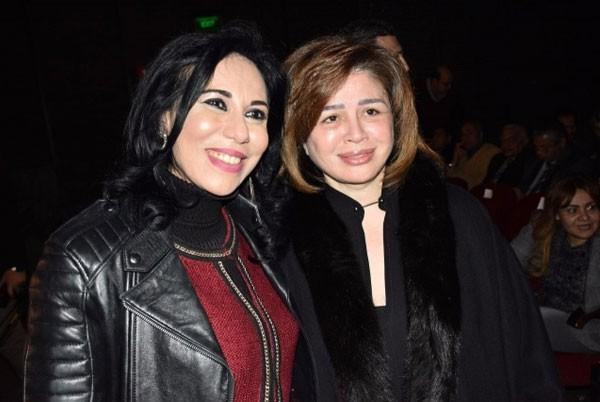 العرض الخاص لفيلم سجن الوصمة بحضور الهام شاهين و خالد يوسف