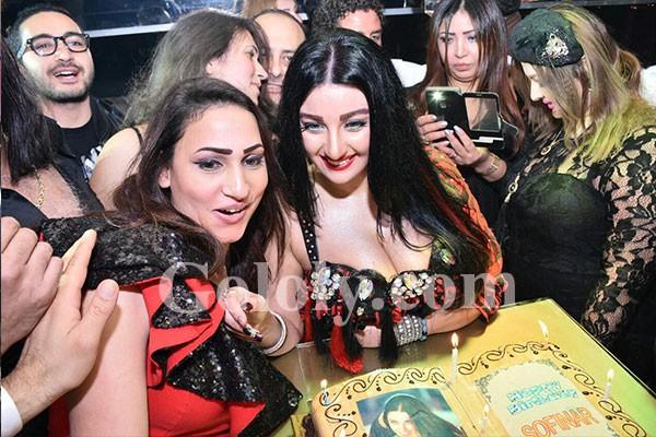صوفينار تحتفل بعيد ميلادها للمرة الثانية