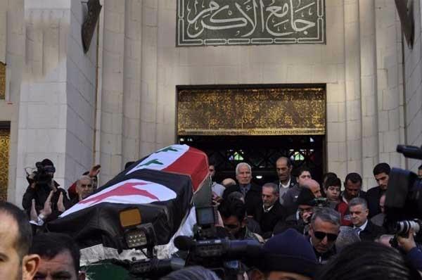 جنازة رفيق سبيعي