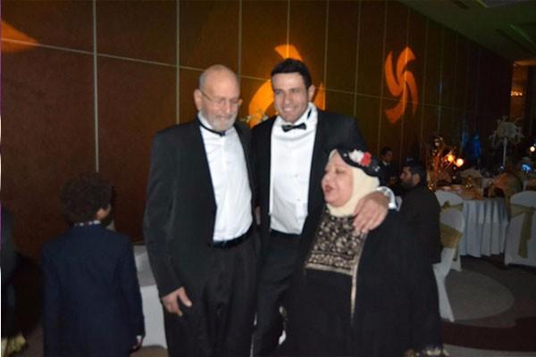 حفل زفاف شقيق محمد نور