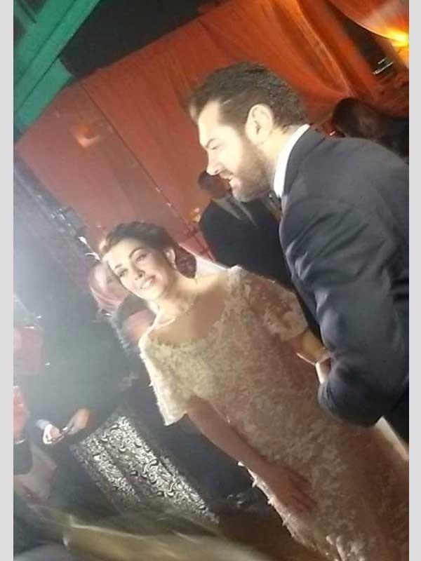 زفاف عمرو يوسف و كندة علوش