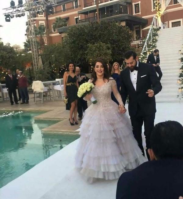 حفل زفاف كندة علوش و عمرو يوسق