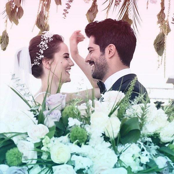 حفل زفاف بوراك اوزجفيت