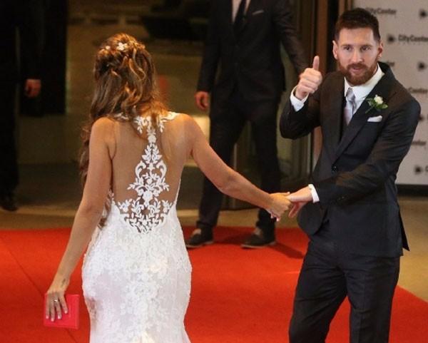 حفل زفاف ميسي