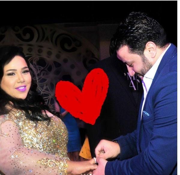 شيماء سيف وخطيبها