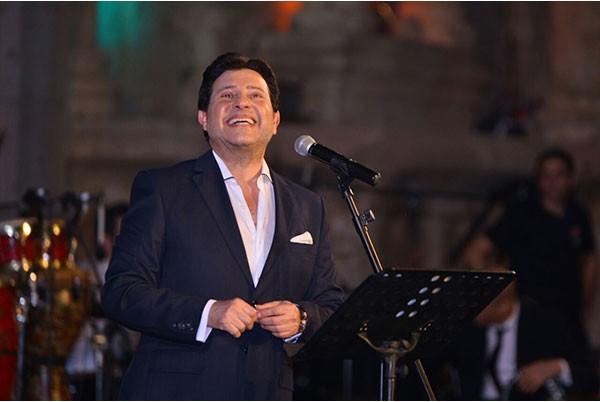 هاني شاكر مهرجان جرش بأغنية خاصة للاردن يقدمها لأول مرة