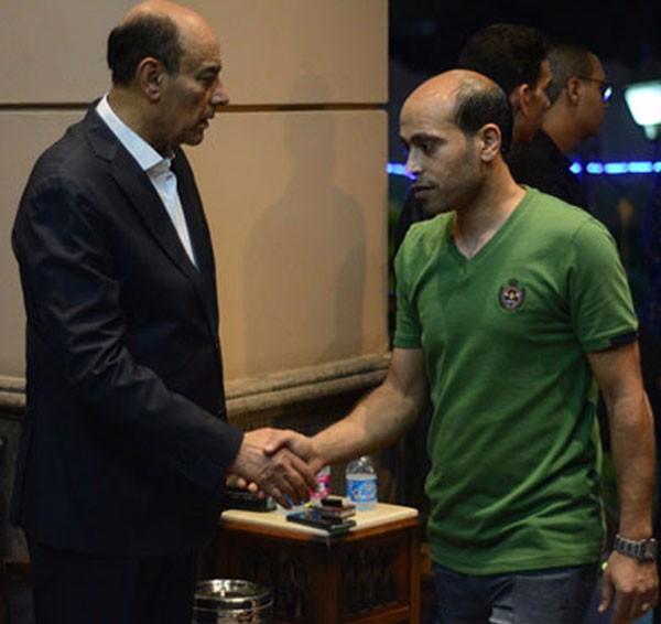 عزاء شقيق احمد بدير