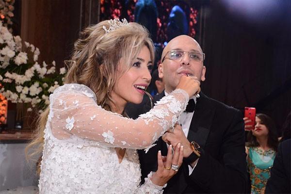 حفل زفاف الفنانة جنات