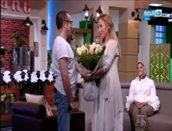 ريهام سعيد و شريف مدكور