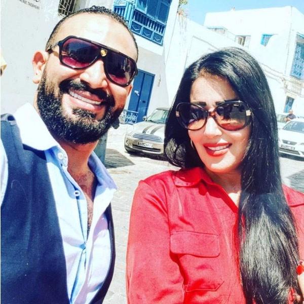 سمية الخشاب و احمد سعد