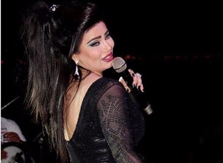تكريم المطربة مروى في التلفزيون المصري
