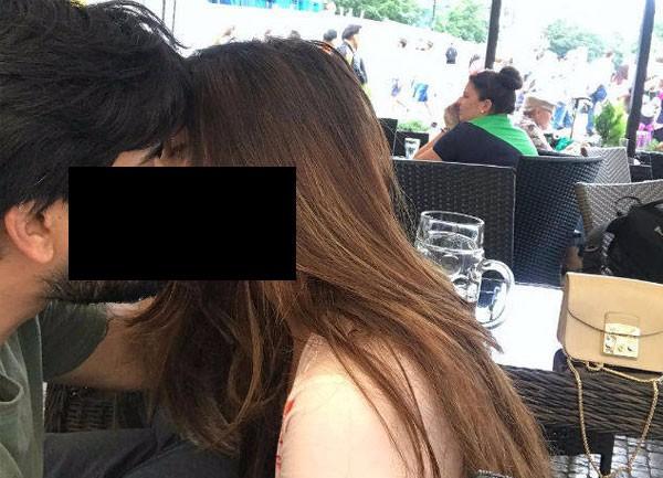 الصورة الأولى من شهر عسل ريا سين في براغ.. شاهد