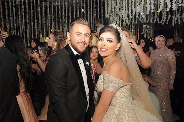محمد فؤاد و شيرين عبدالوهاب و تامر حسني فى زفاف لؤى و هبة
