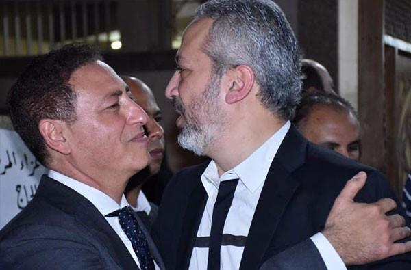 عزاء والد خالد حلمي