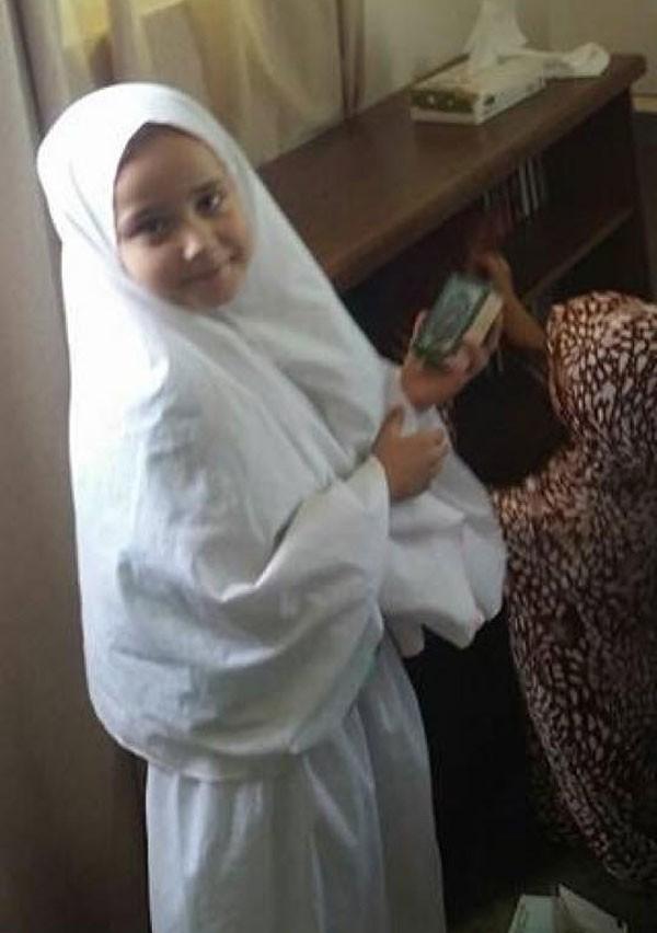 صورة ابنة حلا شيحة بالخمار تنشرها لأول مرة على صفحتها الشخصية فيسبوك وتكشف عن أسماء أولادها وعددهم 1 11/10/2017 - 4:31 م
