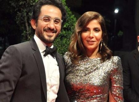 موقف محرج لأحمد حلمي في العمرة بسبب زوجته منى زكي