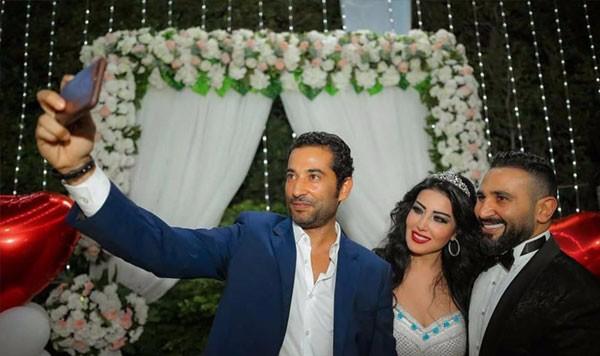 احمد سعد و سمية الخشاب