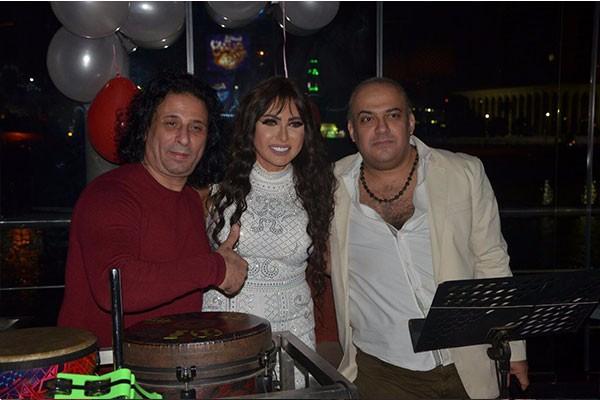 حفل عيد ميلاد الاعلامية مها عثمان