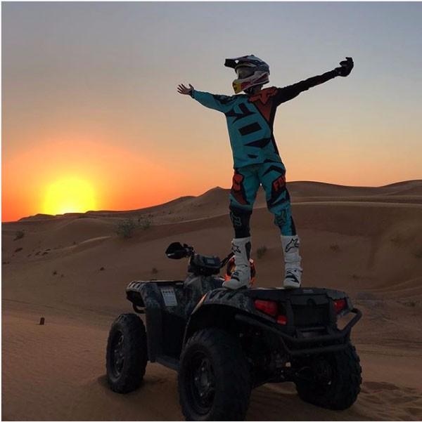 مريم أوزيرلي مغامرة دراجة رباعية
