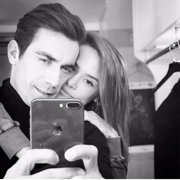إبراهيم شيليكول وزوجته في جلسة تصوير تفوح رومانسية شاهد