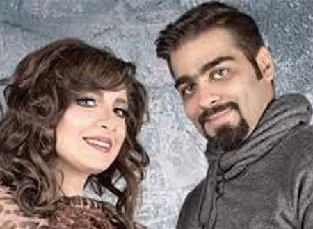 هبة الدري وزوجها يحتفلان بعيد ميلاد ابنهما الأكبر صور