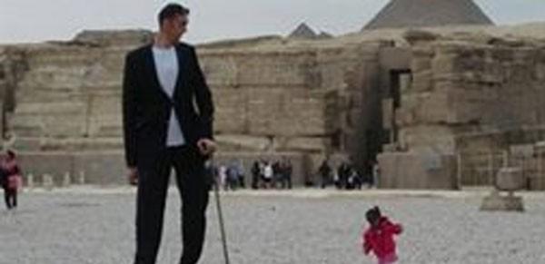 اطول رجل في العالم