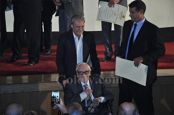 تكريم محمد سعد و فاروق الفيشاوي و جميل راتب و لبله فى ختام مهرجان جمعية الفيلم