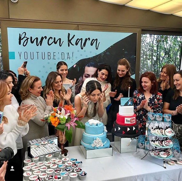بورجو كارا تحتفل بعيد ميلادها