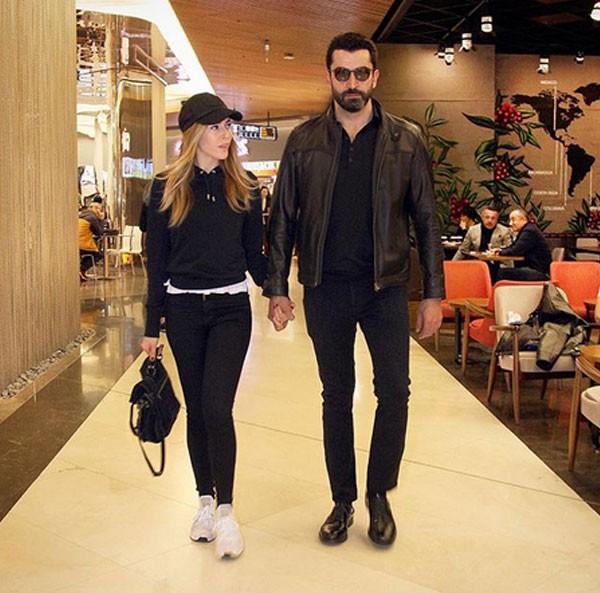 كينان أميرزالي وزوجته جولة تسوق