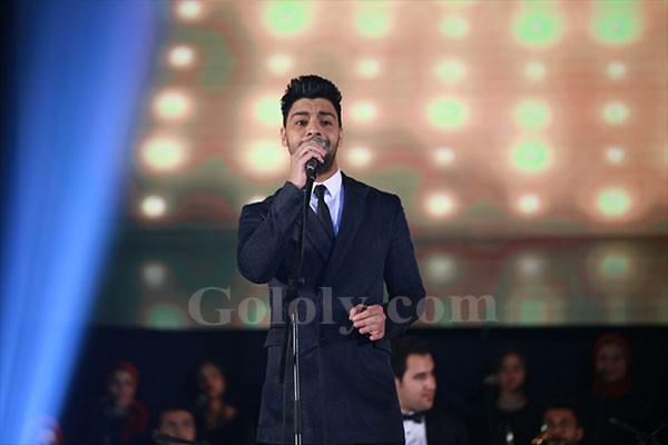 تكريم احمد جمال في حفل افتتاح مهرجان مسرح الشباب