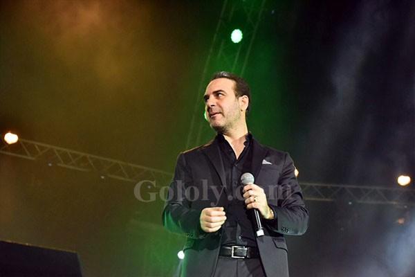 وائل جسار و صابر الرباعييشعلان مدينة الملك عبد الله طربا وفنا