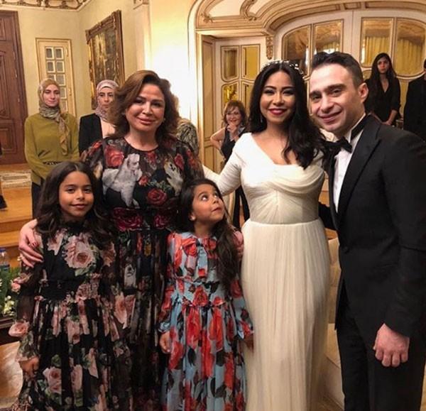 زفاف شيرين عبدالوهاب و حسام حبيب