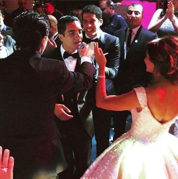زفاف نجل هشام طلعت مصطفى