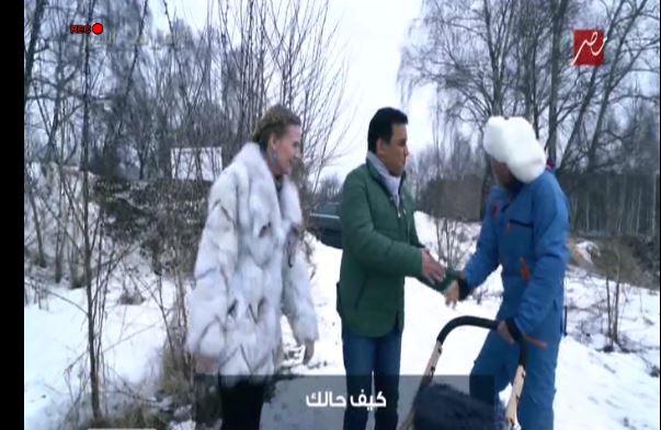 حسام البدري و رامز جلال