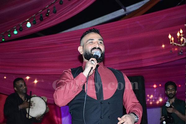 احمد سعد يتالق فى خيمة مولانا باكتوبر