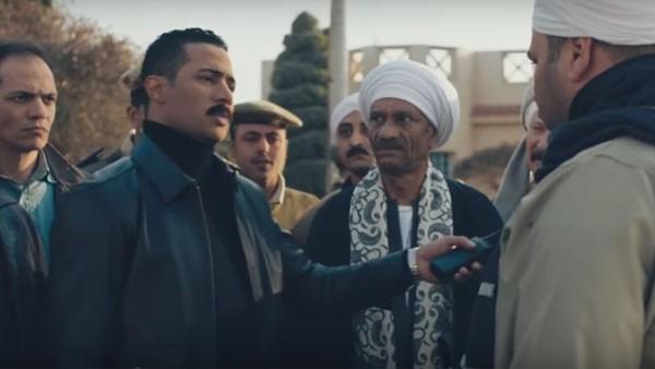 محمد رمضان و درة و وفاء عامر - نسر الصعيد