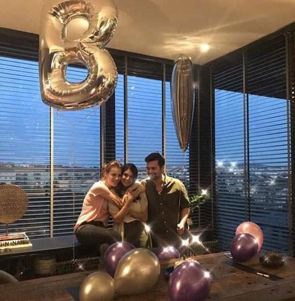 إلتشين سانجو تحتفل بعيد ميلاد