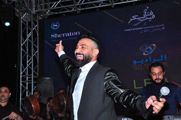 احمد سعد يحيي خيمة فتافيت السكر