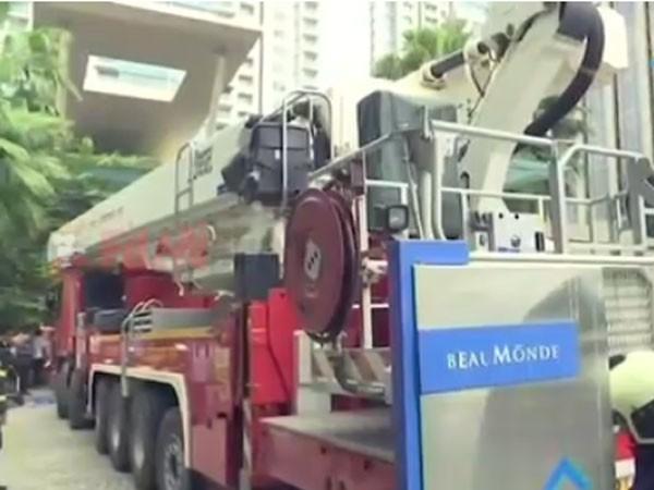 اندلاع حريق ضخم بالمبنى السكني للممثلة ديبيكا بادوكون.. صور