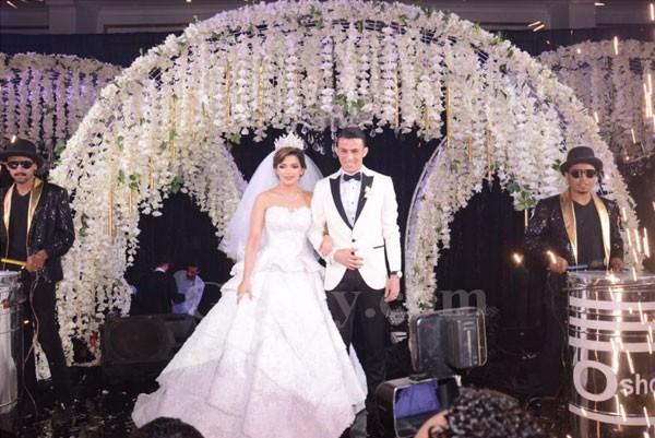 حفل زفاف نجل شوقي غريب