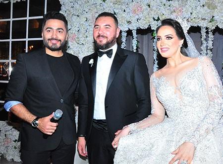 نجوم الفن في حفل زفاف كريمة رجل الأعمال محمود عبدالعال.. صور