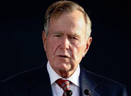 كلب جورج بوش الأب يحصل على وظيفة جديدة.. صور