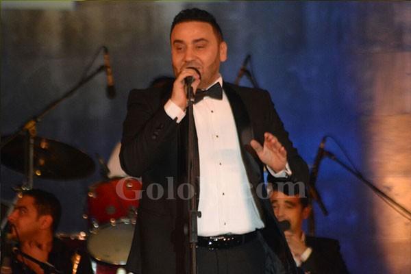 مجد القاسم يحي حفل مهرجان القلعة و مي كساب تشاركه الغناء